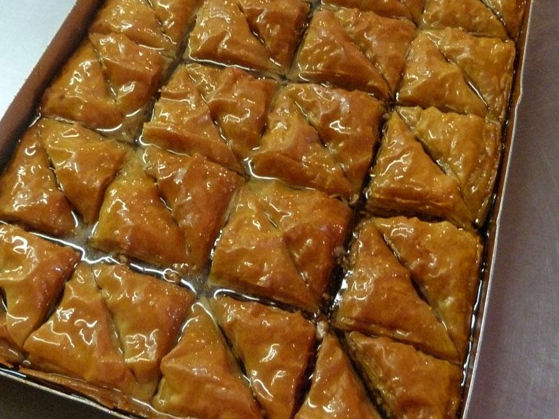 Freshly Made Baklava