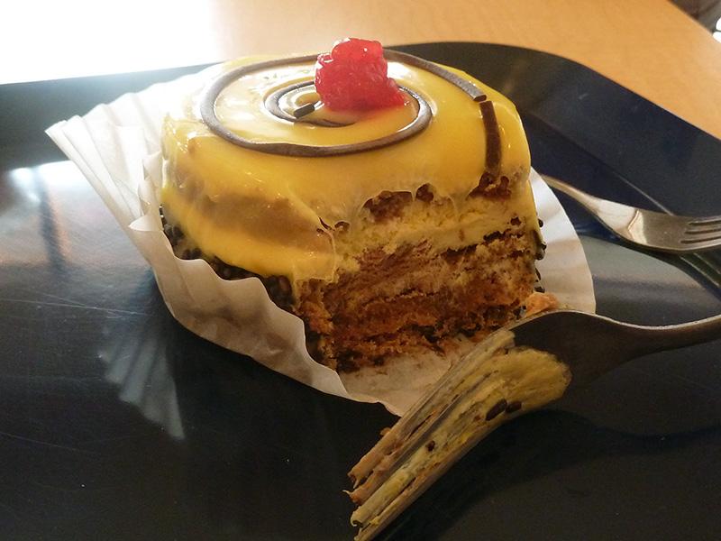 Lemon pastry